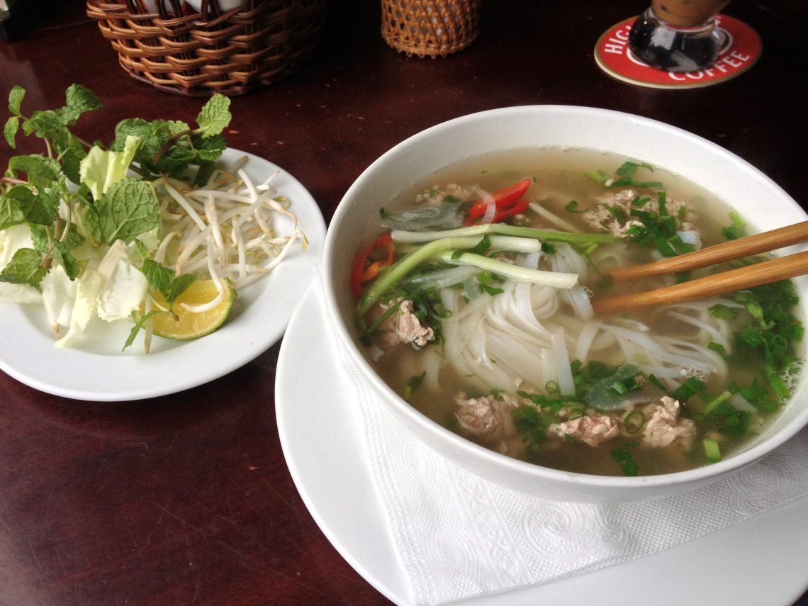 Pho With A Side Of Kimchi Foodcandy