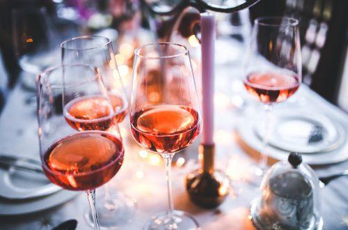 wine, rose, glass
